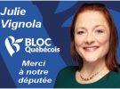 Merci à notre députée Julie Vignola